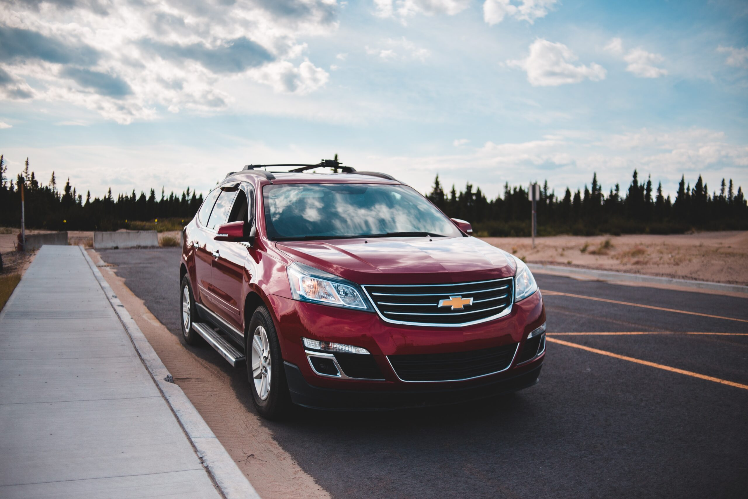 a Chevy SUV for lease with $0 down payment